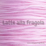 1 Metro di cordino in nylon rosa da 1mm